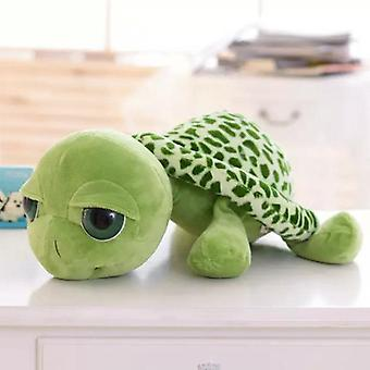 Cute Big Eyes Turtle Plush, Bonecas de Animais de Tartaruga (20cm)
