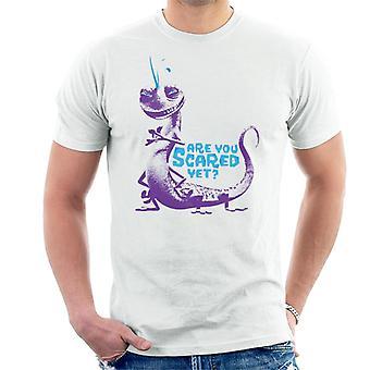 Pixar Monsters Inc Randall Boggs Är du rädd ännu män's T-shirt