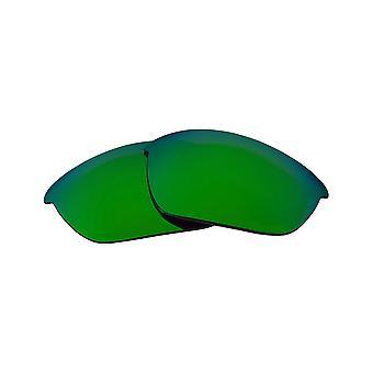 الاستقطاب عدسات استبدال ل Oakley نصف سترة الشمس المضادة للخدش الأخضر