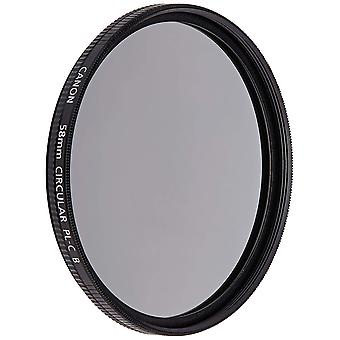 Canon 58 pl-c b 58mm circular filter