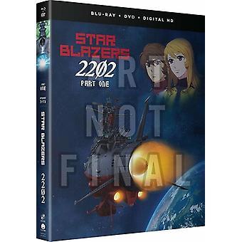 Star Blazers: Space Battleship Yamato 2202 - Pt 1 [Blu-ray] USA import