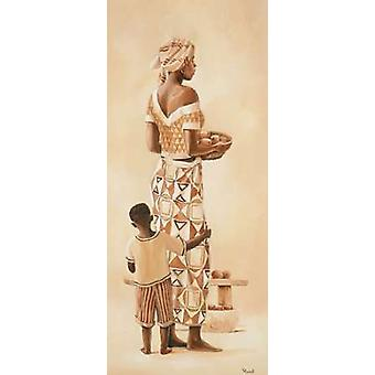 African family I Poster Print by Renee
