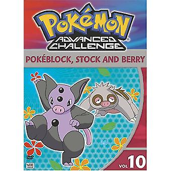 Pokemon Advanced Challenge : Vol. 10 [DVD] USA import