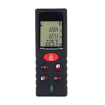 Advanced Laser Rangefinder Distance Meter | Range 0.05 ~ 40m / � 2mm With Lcd Backlight Dust And Splash Protection