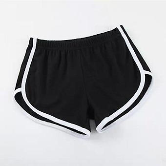 Women Shorts Elastic Loose Waist Running Fitness Pants Pajamas For Home Sleep