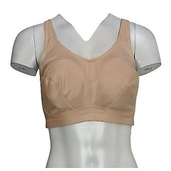 Breezies B Full Coverage Unlined Wirefree Support Bra Beige A288424