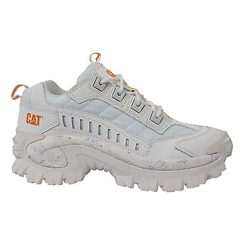 Caterpillar CAT Eindringling Urban Outdoor Lace Up Star White Trainer Unisex P723987