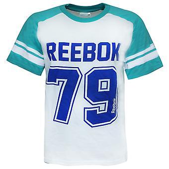 Reebok Short Sleeve Graphic Top Crew Neck Atlantis Boys T-Shirt B09102