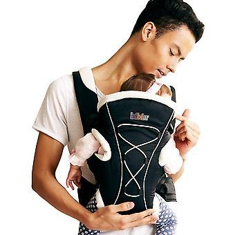 Bebamour baby carrier měkké a prodyšné dítě prak pro novorozence ergonomické 3-in-1 přední a zadní bab
