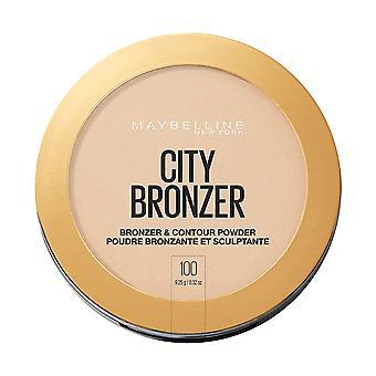 Maybelline New York City Bronzer Powder Makeup Bronzer and Contour Powder, 100, 0.32 Oz