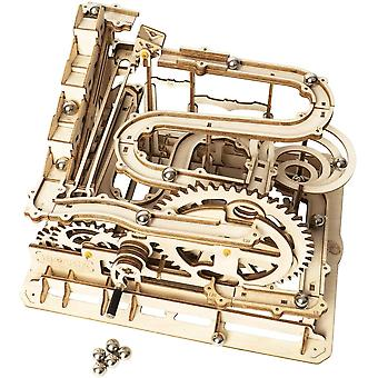 ROKR 3D Wooden Puzzle Marble Run Wooden Model Kits Mechanical Puzzles