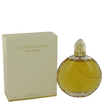 CREATION by Ted Lapidus Eau De Toilette Spray 3.4 oz / 100 ml (Women)