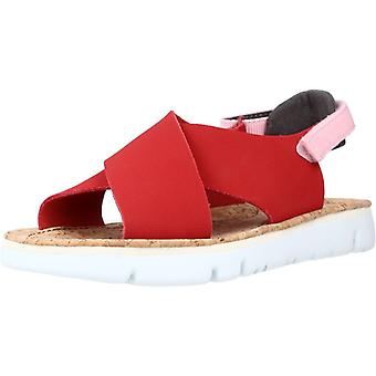 Camper Sandals Caterpillar Rouge
