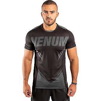 Venum One FC Impact Dry Tech T-Shirt Svart/Svart