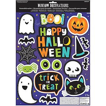 Raamstickers Vrienden Van Halloween Junior Vinyl