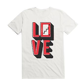 Etch A Sketch Love T-paita