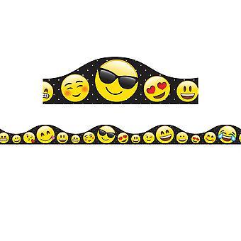 Magnetic Scallop Border Emojis, 12'