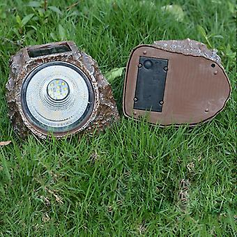 Imitation Stone Solar Light Led Ip68 Waterproof Induction Lawn Lamps