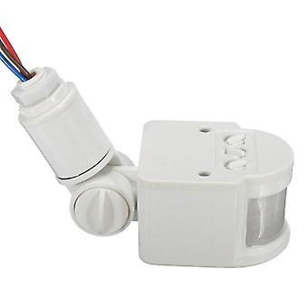 Ac 220v automatische infrarood pir beweging sensor schakelaar met led-licht