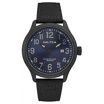 Men&s Klocka Nautica NAI11515G ( 45 mm)
