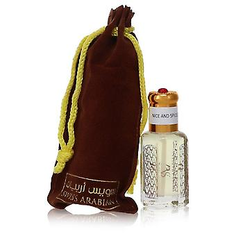 Nice And Spice Perfume Oil (Unisex) Tekijä Swiss Arabian 0,41 oz Hajuvesiöljy