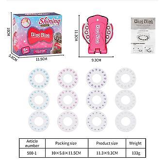 180 Gems Blinger Deluxe Set Pretend Play Jewel Refill Set, Diamond Sticker Toy
