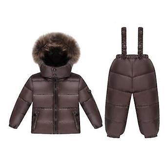 سترة الشتاء ل / الأولاد، بطة دافئة أسفل ملابس الأطفال