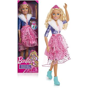 Barbie Best Fashion Friend Princess Adventure 28 Inch Doll - Blonde