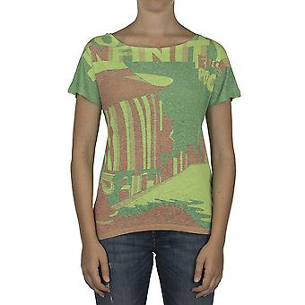 Custo Barcelona Women T-shirt Deli Infinity Multicolor