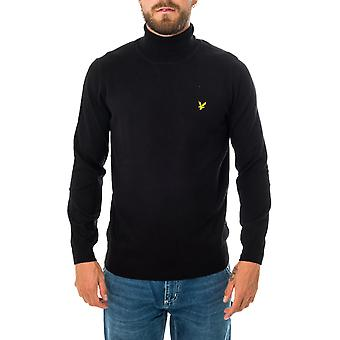 Pull pour homme lyle & scott roll neck jumper kn1020v.z865 sweater
