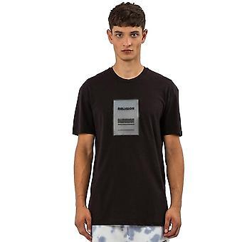 Religion 11tren96 Rep Rubber Patch Logo T-shirt - Black