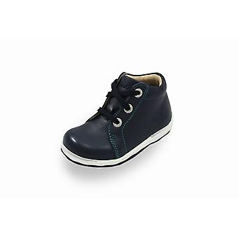 Lurchi ipsy navy blue lace-up boots