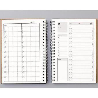 Quaderni Agenda Planner Diario, Weekly Spiral Organizer A5 Note Books