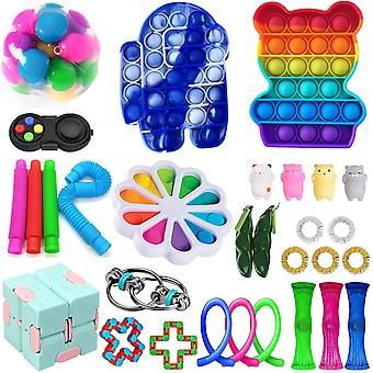 Fidget Toys Sensory Set Autism Adhd Stress Relief Special Need Education Sets
