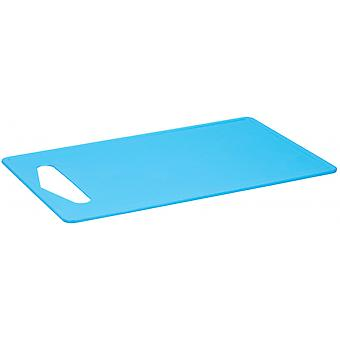 snijplank 35 x 23 cm polypropyleen blauw