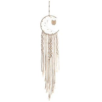 Hand-woven Dream Catcher Owl Tapestry Stall Wall Hanging Pendant Dreamcather Ornaments