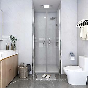 vidaXL Shower door Transparent ESG 96x190 cm
