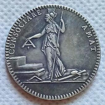 French revolution - libert egallite masonic coin