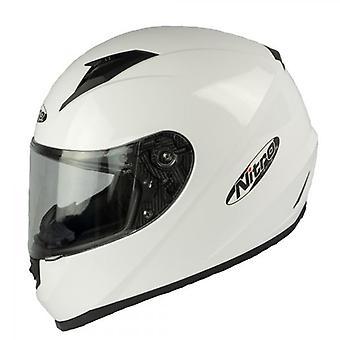 Nitro N302 Full-Face Motorcycle Helmet White