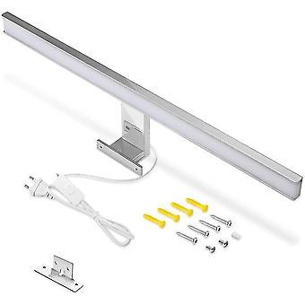 FengChun LED Spiegelleuchte Badezimmer Lampe 60cm, IP44 Kaltes Weiß 6000k Bad Spiegel Beleuchtung