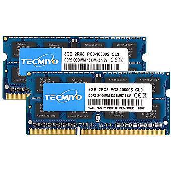 FengChun 16 GB Kit (2 x 8 GB) DDR3 1333 MHz PC3-10600 Ungepuffert Nicht-ECC 1,5 V CL9 2Rx8 Dual Rank