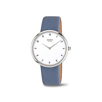 Boccia Analogueico Quartz Watch Woman with Real Leather Strap 3309-07