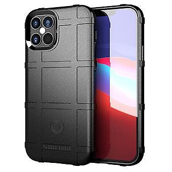 Étui en fibre de carbone Tpu pour iphone 12 mini noir mfkj-1824