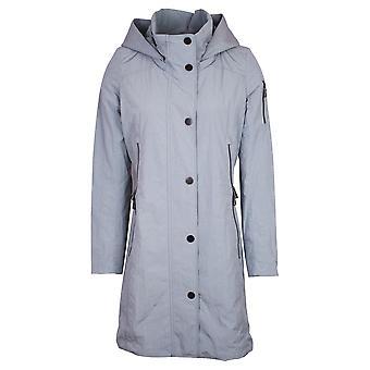 Creenstone Powder Mint Raincoat With Removable Hood