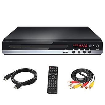Usb-metaal met kabel Vcd multi-formaat cd home draagbare dvd-speler voor tv