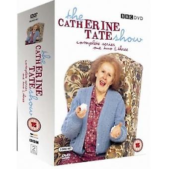 キャサリン・テート・ショー:完全なBBCシリーズ1-3ボックスセットDVD