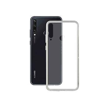 Mobil dækker Huawei Y6P KSIX Transparent