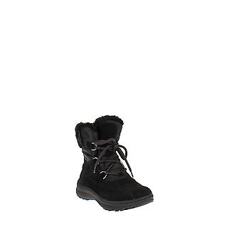 Baretraps   Aero Leather Round Toe Ankle Cold Weather Boots