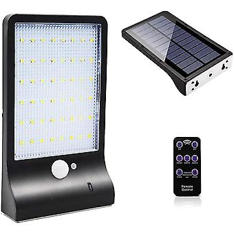 Outdoor solar lamp 48 led motion sensor light dimmable with wireless remote control waterproof solar lamp dt5920