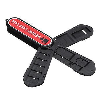 KH4 caja de almacenamiento de la tarjeta de memoria para SD Micro SD TF Tarjeta SIM Tarjeta Pin B